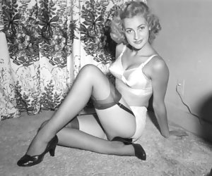 What all these hotties do is posing in their favorite vintage lingerie and showing themselves on camera