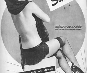 Without any doubts and hesitations seductive females begin posing in retro lingerie just for fun