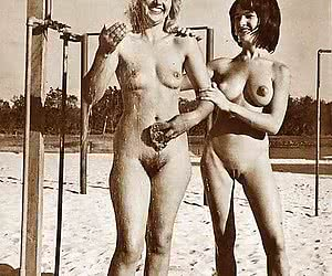 Vintage Beach Nudist