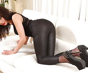 Latex Leggings Yoga Pants