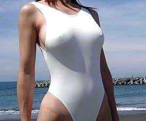 Asians Wearing Swimsuits