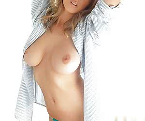 Blouse And Open Front