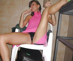 On Her Chair
